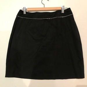 Cache Women's Black short pencil skirt